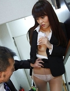 Haruna Sendo getting it from behind