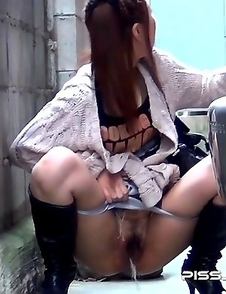 Japanese Piss Fetish Videos - Asian Girls Pissing - Piddle Here, Puddle There 9